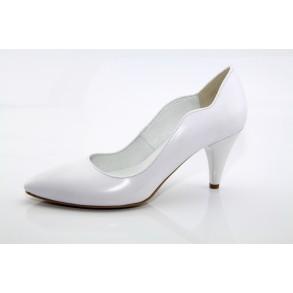 Fehér esküvői cipő Tamyra