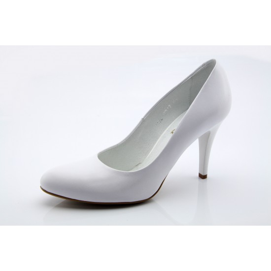 Ann fehér esküvői menyasszonyi cipő