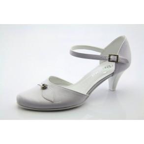 929e6c0452 Menyasszonyi, esküvői fehér cipő Hana
