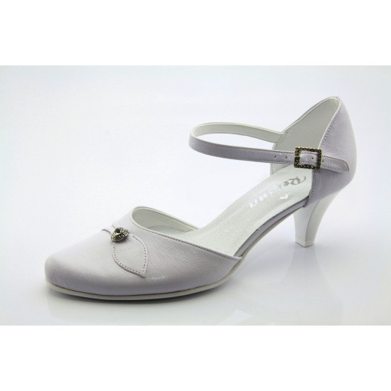 Menyasszonyi, esküvői fehér cipő  Hana