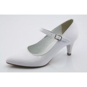Fehér esküvői menyasszonyi cipő Ilien