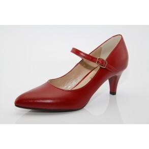 Brenda piros menyecske cipő