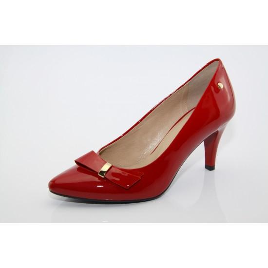 Eva piros alkalmi cipő