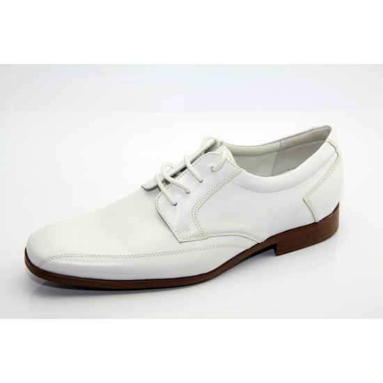 Fehér férfi alkalmi cipő 302