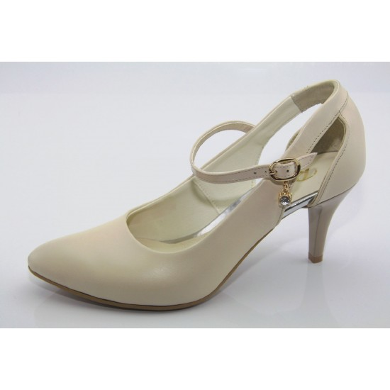 Esküvői cipő beige Avni