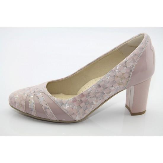 Púder színű alkalmi cipő Tanya