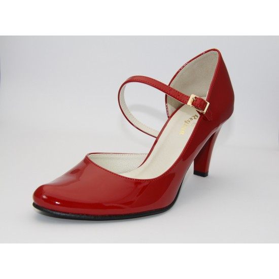 Piros  alkalmi cipő Hellen