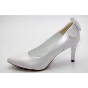fa4e98eaec Fehér esküvői cipő Megan ...